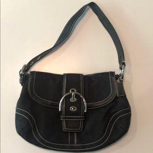 COACH - Soho Signature Black Bag